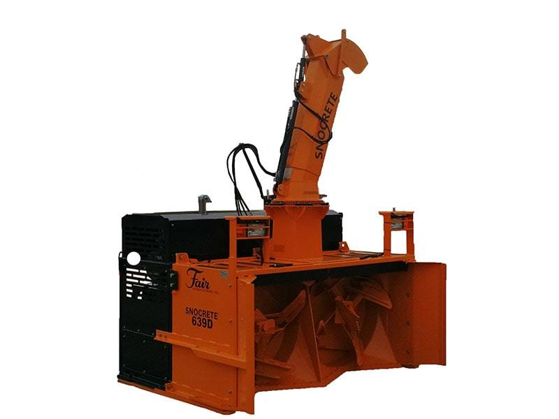 Snocrete® 639D Loader Mount Snowblower