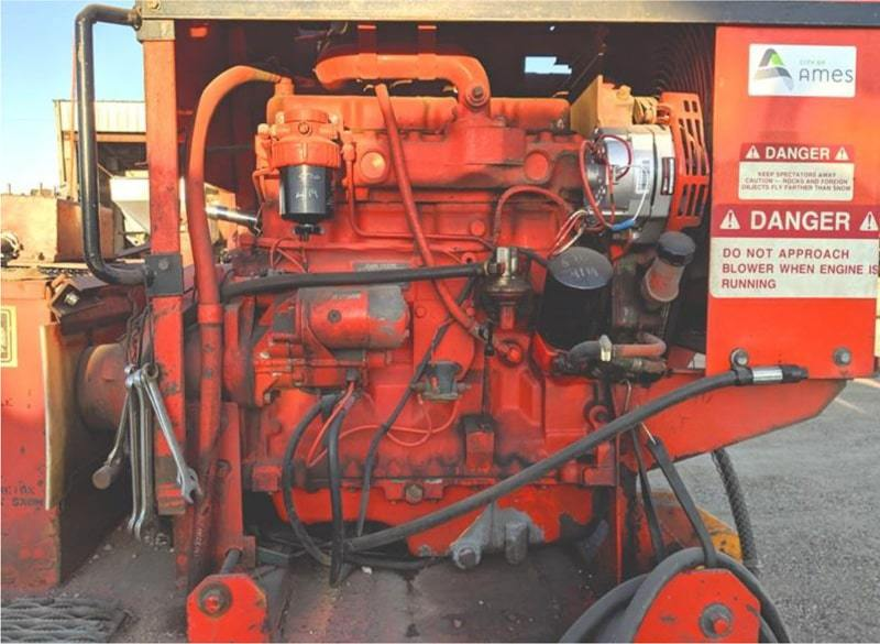 Used 1985 SNOCRETE® 742SI loader mount snowblower