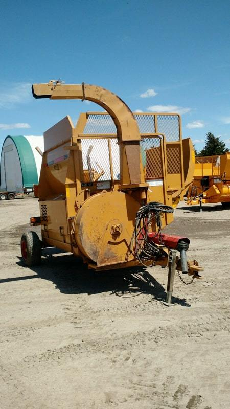 Used Haybuster 2564 bale processor
