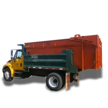 Snow body insert for dump trucks