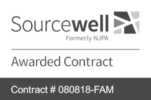 Sourcewell Contract logo - Contract # 080818-FAM
