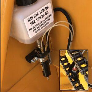 Snocrete® Agriculture Series Snowblower auto oiler