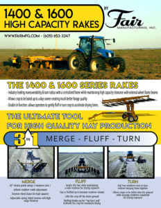 Fair Manufacturing Hay Rake flyer PDF